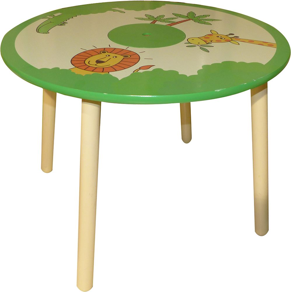 table pour enfant jungle. Black Bedroom Furniture Sets. Home Design Ideas