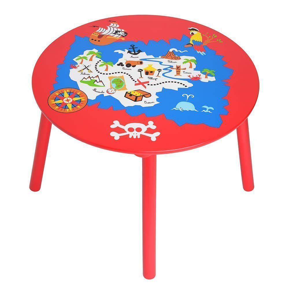 Table enfant Pirates sur Jardindeco