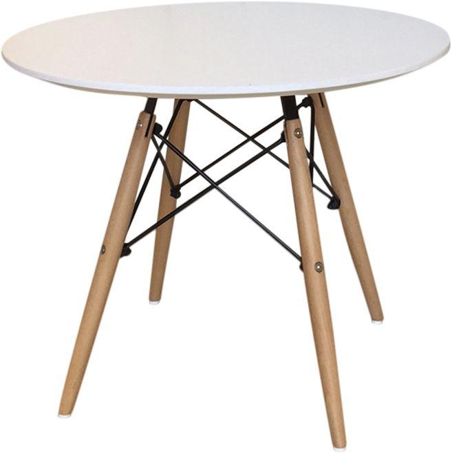 table enfant stockholm blanche 60cm. Black Bedroom Furniture Sets. Home Design Ideas