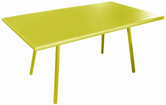 image_Table de jardin Menu lemon 160cm