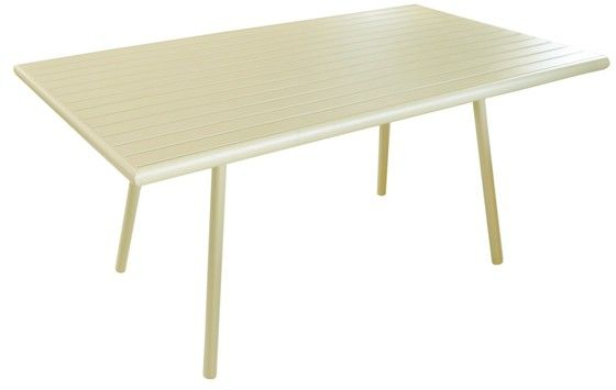 Table de jardin Menu nacre 160cm