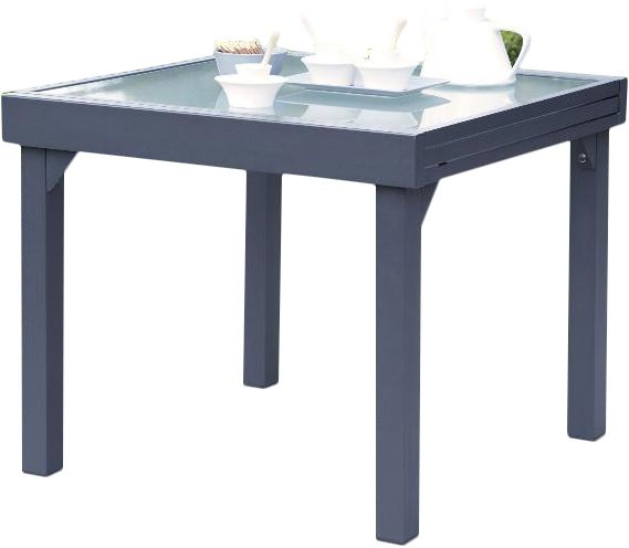 Table jardin Modulo 90-180cm