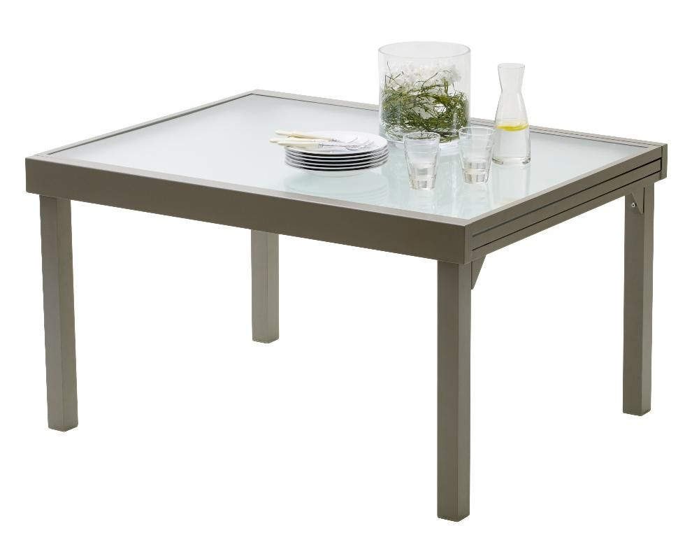 Table jardin Modulo 135-270cm