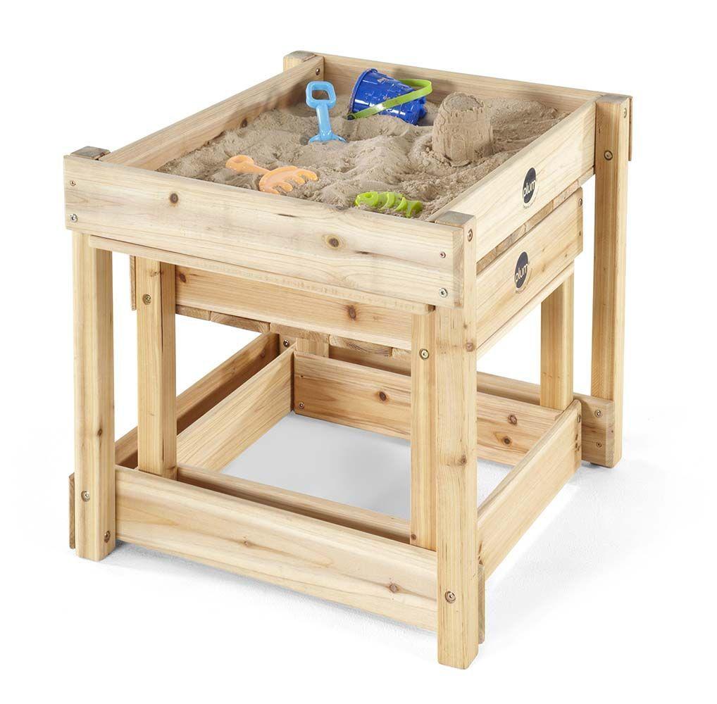 table de jeux en bois bac sable et bac eau. Black Bedroom Furniture Sets. Home Design Ideas