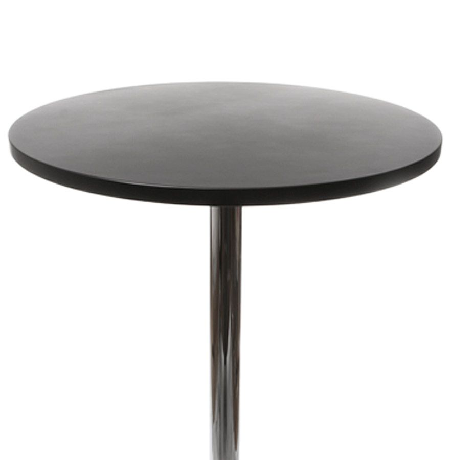 table mange debout lila noir. Black Bedroom Furniture Sets. Home Design Ideas