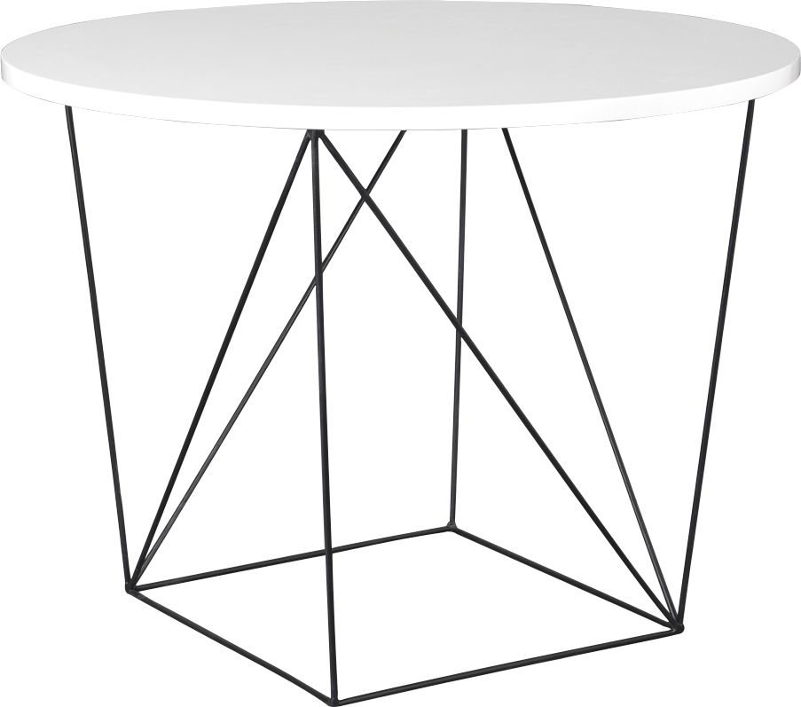 image_Table à manger design blanc