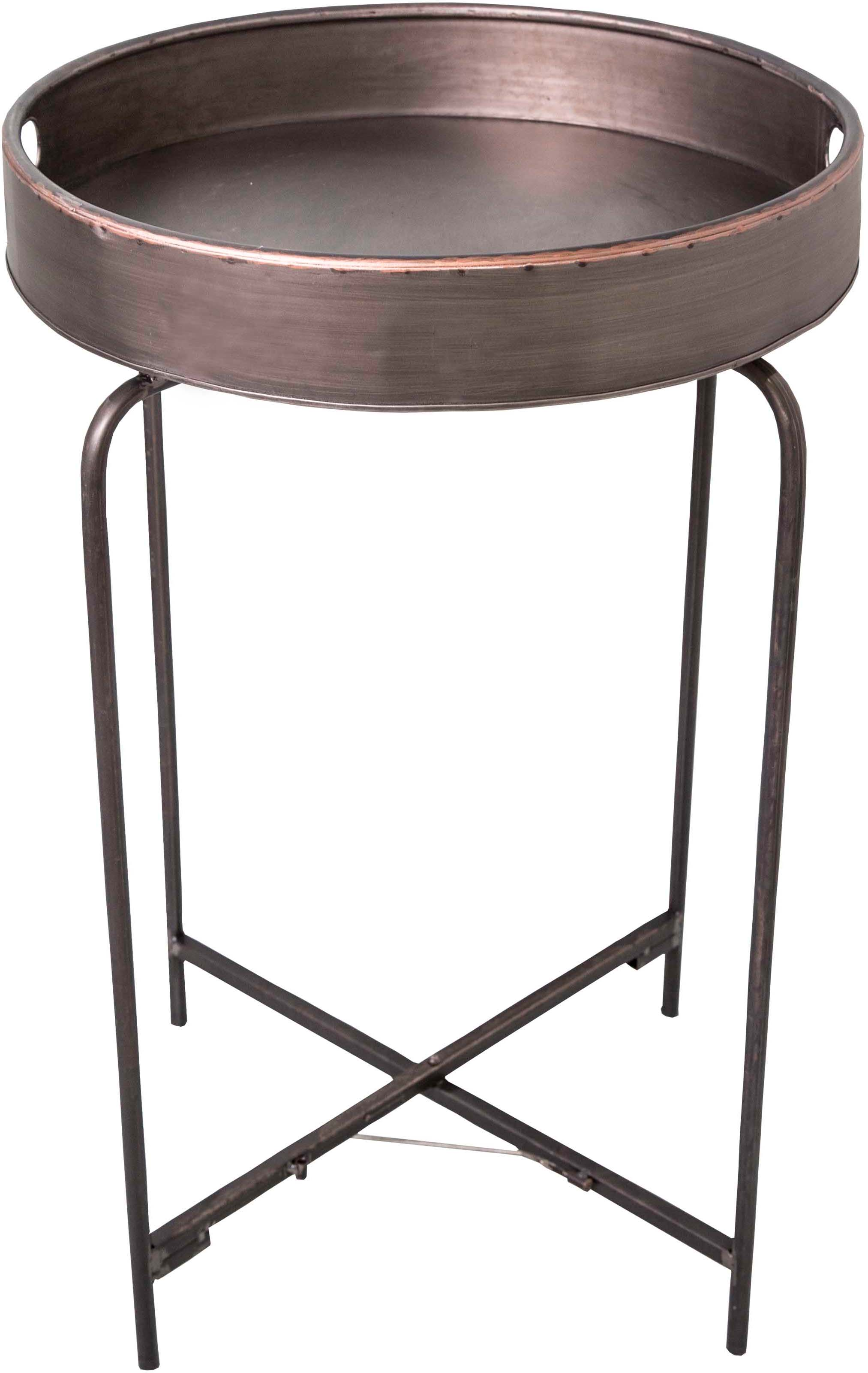 table plateau rond en fer. Black Bedroom Furniture Sets. Home Design Ideas