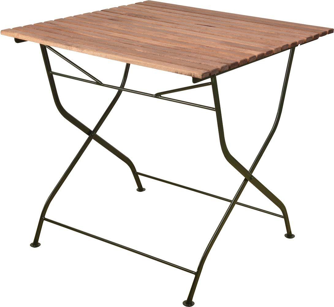 Table pliable en bois et m tal - Table en bois pliable ...