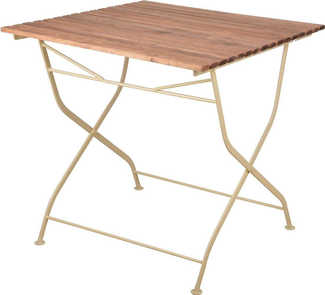 Table pliable en bois et m tal for Table en bois et metal