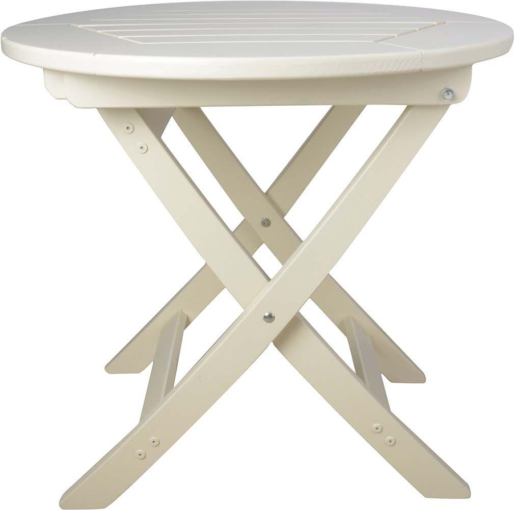 table pliante ronde en pin. Black Bedroom Furniture Sets. Home Design Ideas