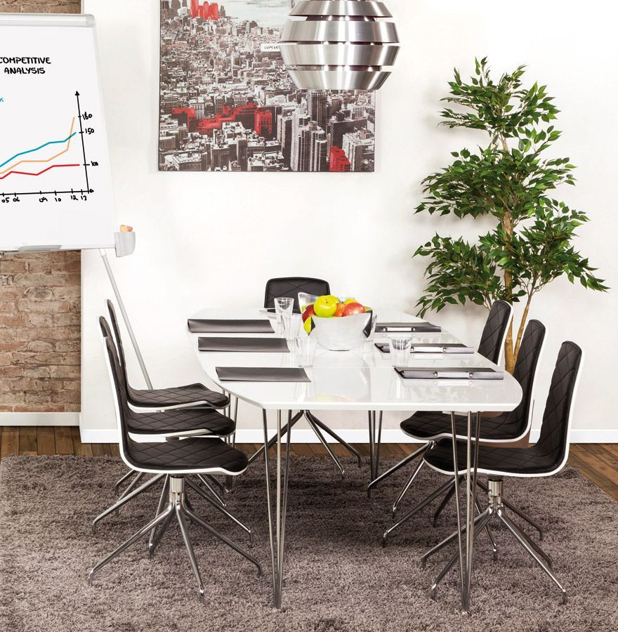 Table repas design extensio 170 270cm - Table repas design ...