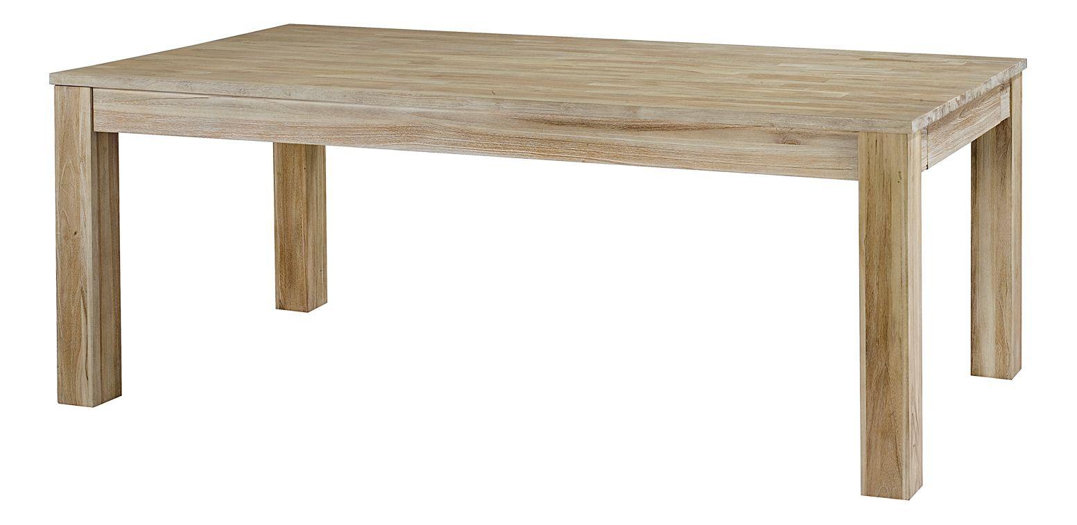 Table Repas Rectangulaire En Teck Avec Allonge Origine