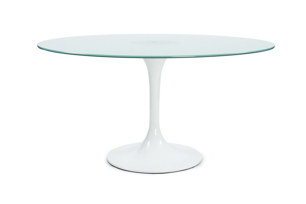 Table ronde design lalea for Table ronde blanc