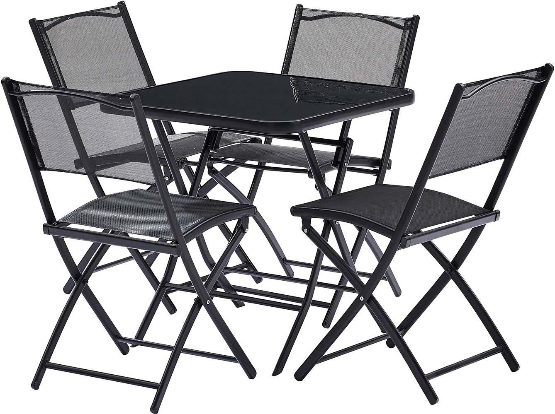 Best table de jardin pliante avec chaises photos awesome - Table pliante avec chaises encastrables ...