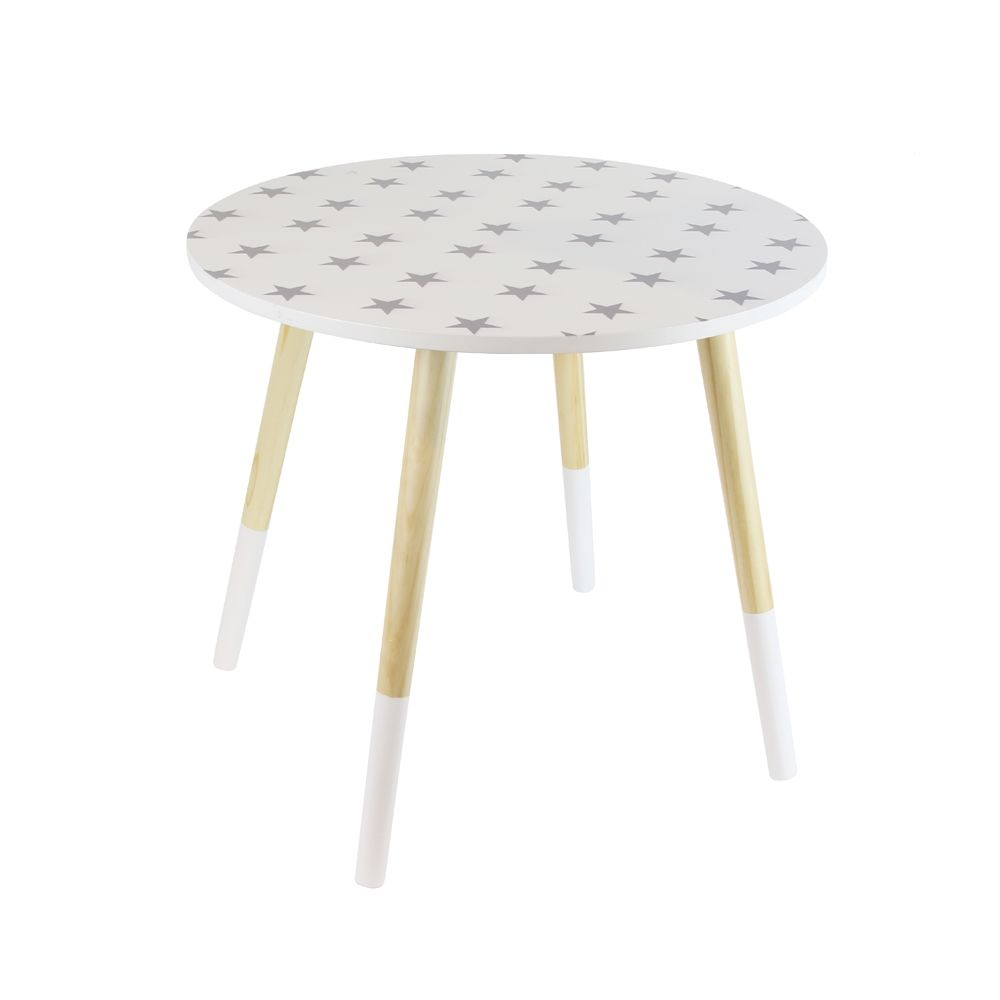 image_Tables gigones motif Etoiles (Lot de 2)