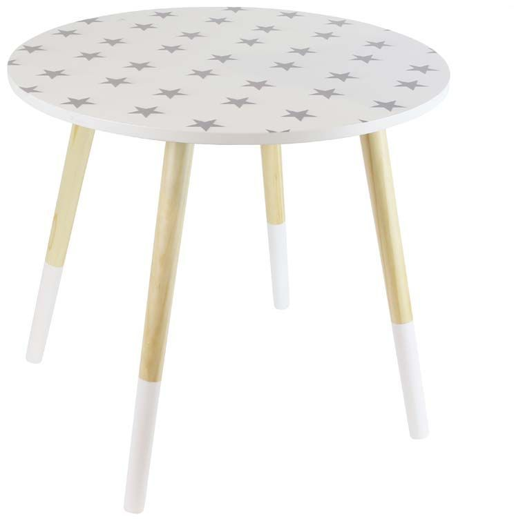 Tables gigones motif Etoiles (Lot de 2)-2