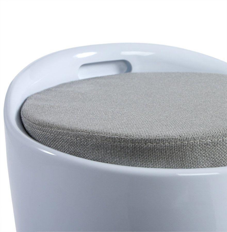 tabouret pouf ese avec rangement. Black Bedroom Furniture Sets. Home Design Ideas