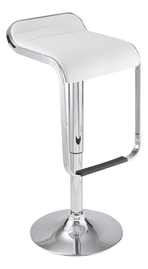 Tabouret de bar Maud blanc by