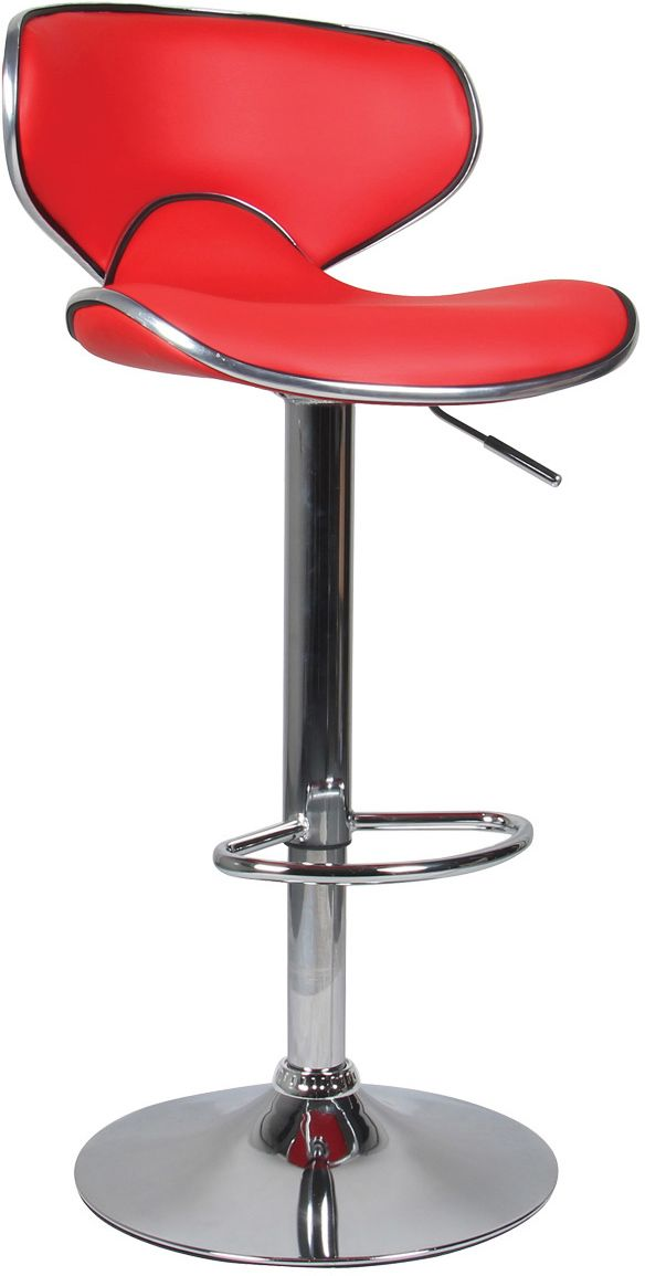 image_Tabouret de bar aspect cuir Ava (Lot de 2)