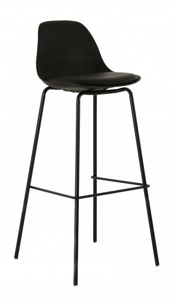 tabouret de bar avec dossier ray. Black Bedroom Furniture Sets. Home Design Ideas