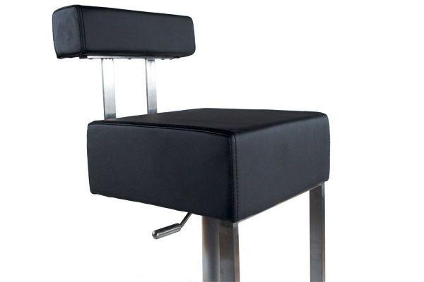 tabouret de bar avec repose pieds cubo. Black Bedroom Furniture Sets. Home Design Ideas