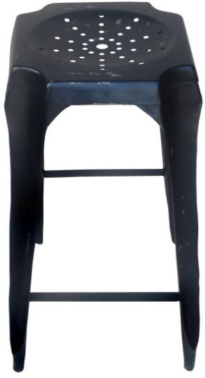 tabouret de bar vintage noir. Black Bedroom Furniture Sets. Home Design Ideas