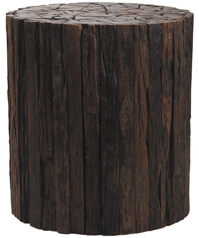 Tabouret rondin de bois - Rondin de bois pour jardin ...