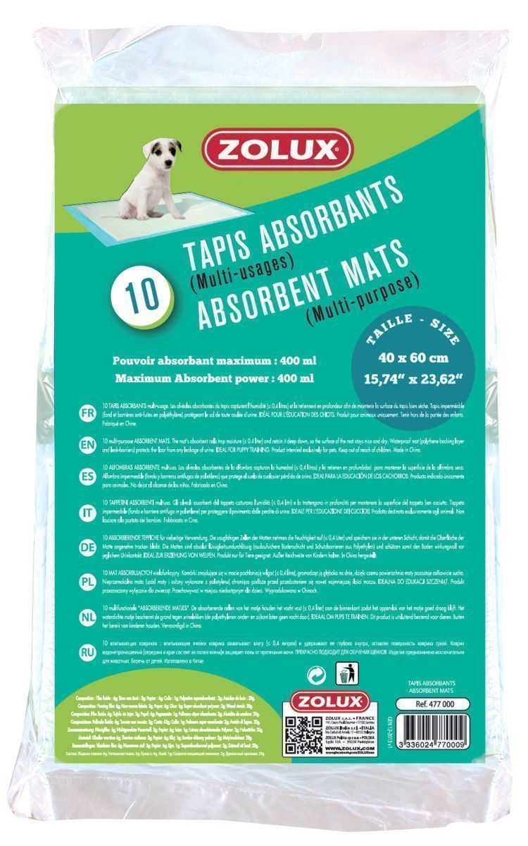 Tapis absorbant pour chiots (Lot de 10)-4