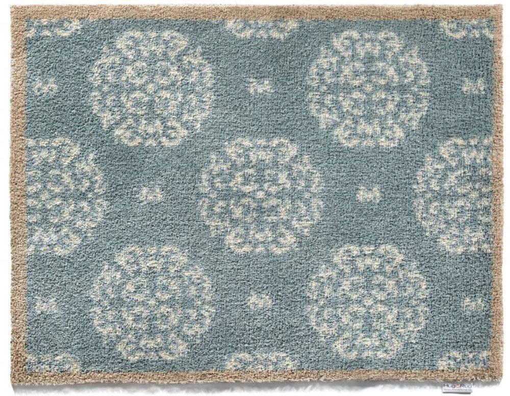tapis en fibres naturelles home fleuri 65x85 cm. Black Bedroom Furniture Sets. Home Design Ideas