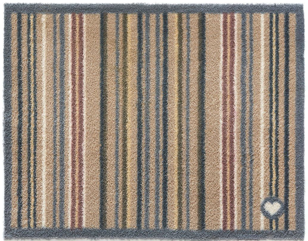 tapis en fibres naturelles rayures 65x150 cm. Black Bedroom Furniture Sets. Home Design Ideas