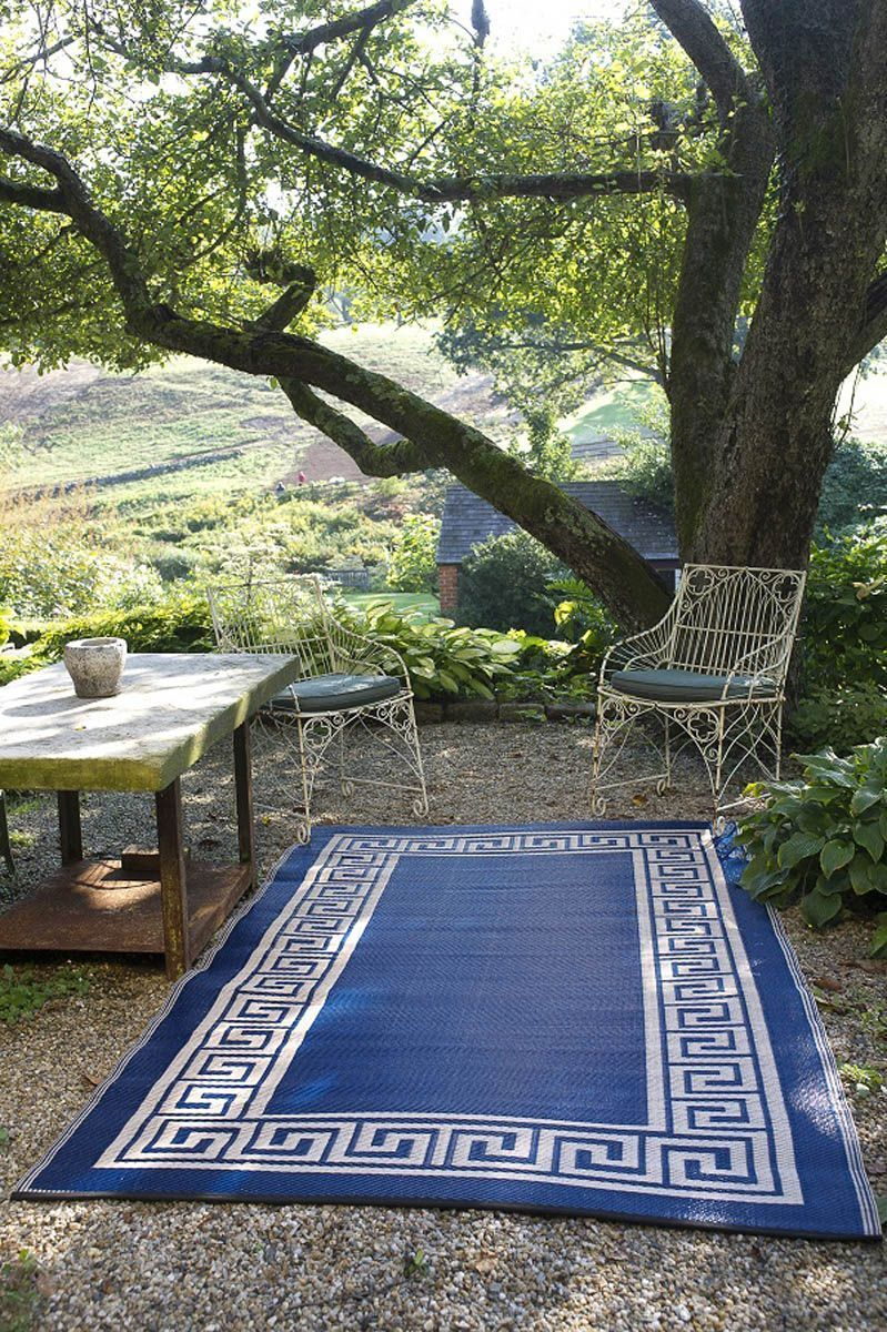 tapis int rieur ext rieur athens bleu marine et cr me petit. Black Bedroom Furniture Sets. Home Design Ideas