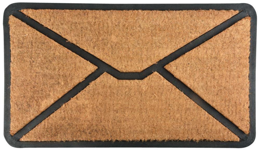 tapis paillasson en coco enveloppe. Black Bedroom Furniture Sets. Home Design Ideas