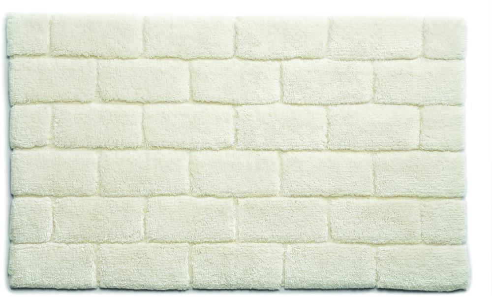 Tapis bambou blanc good interesting tapis x cm with tapis - Tapis salle de bain blanc ...