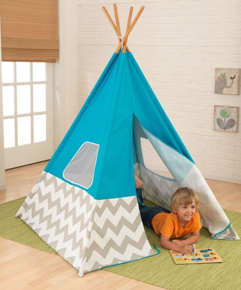 tente tipi pour enfant. Black Bedroom Furniture Sets. Home Design Ideas