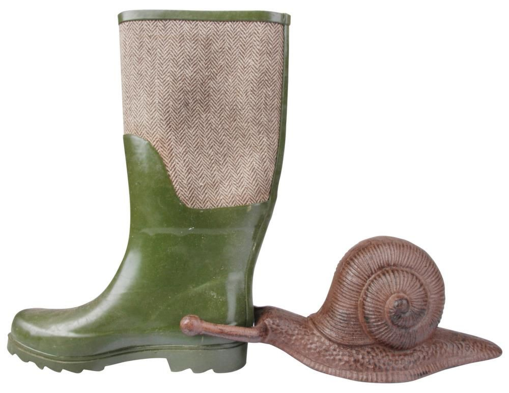 Tire bottes en fonte escargot-1