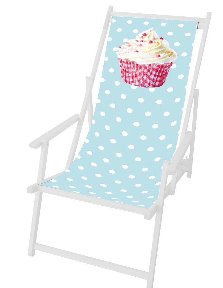 toile cupcake en polyester pour chilienne. Black Bedroom Furniture Sets. Home Design Ideas
