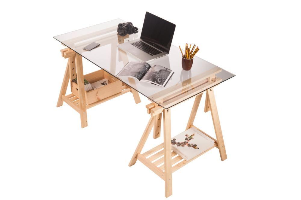 Tr teau architecte non vernis - Chaise bureau architecte ...