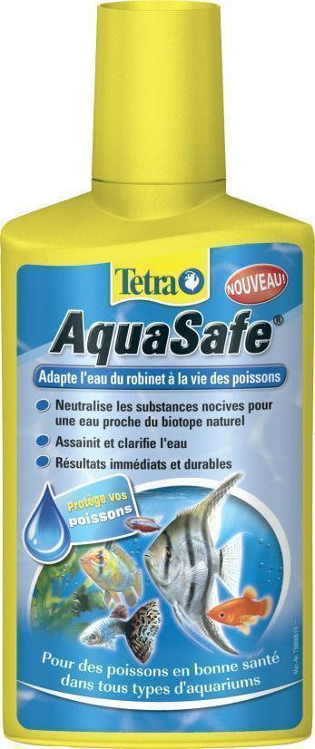 Traitement de l'eau Tetra AquaSafe by Tetra