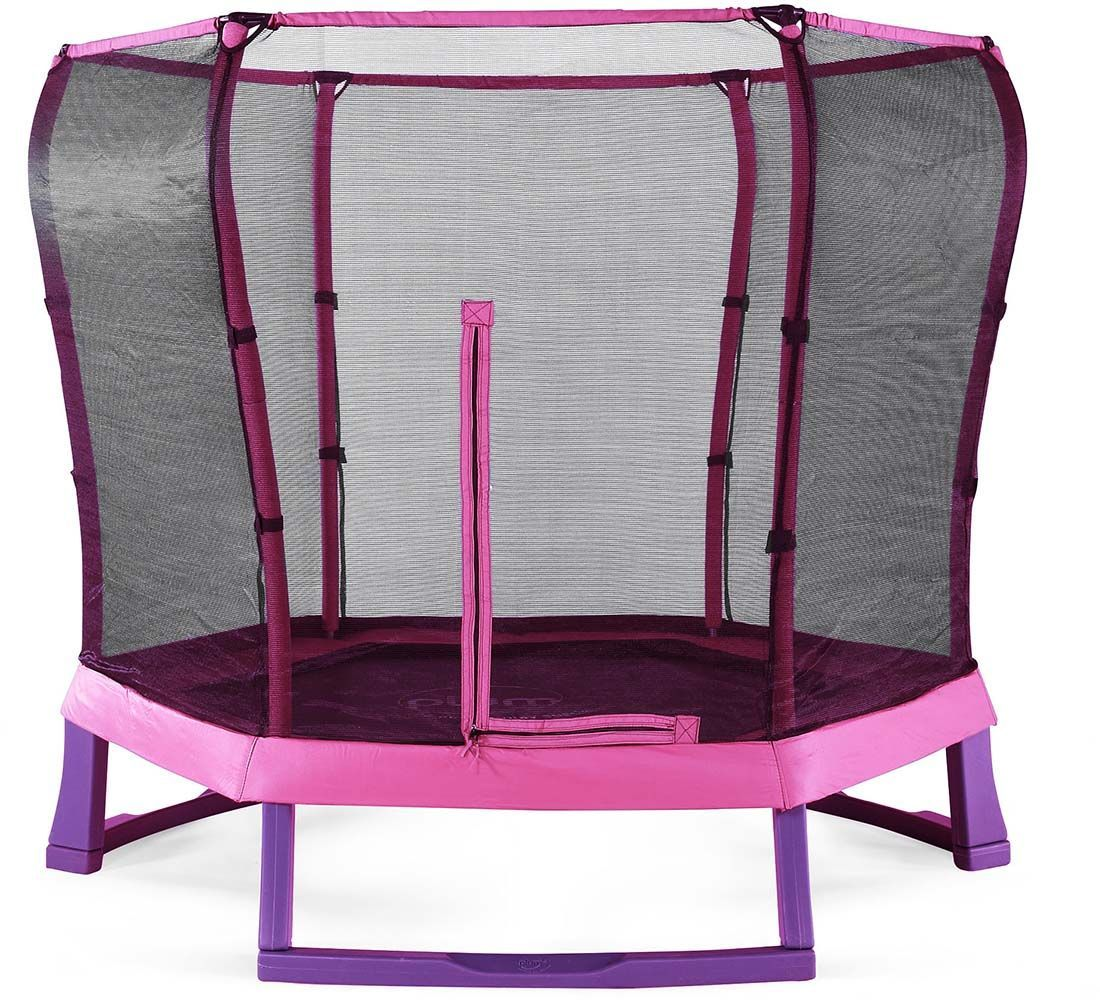 trampoline avec filet de protection 220 cm. Black Bedroom Furniture Sets. Home Design Ideas