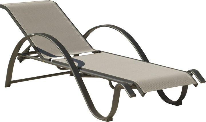 transat de bain design aluminium horizon transat bain de