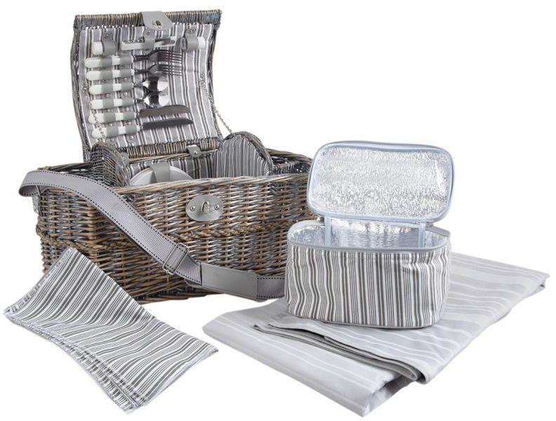 panier pique nique isotherme en osier panier sac dos aubry gaspard sur. Black Bedroom Furniture Sets. Home Design Ideas