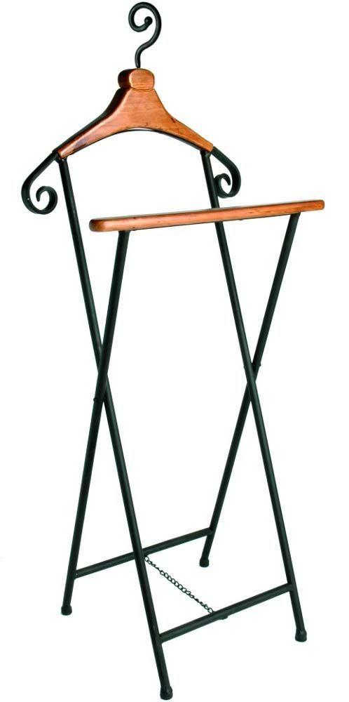 valet de nuit antique bois et fer. Black Bedroom Furniture Sets. Home Design Ideas
