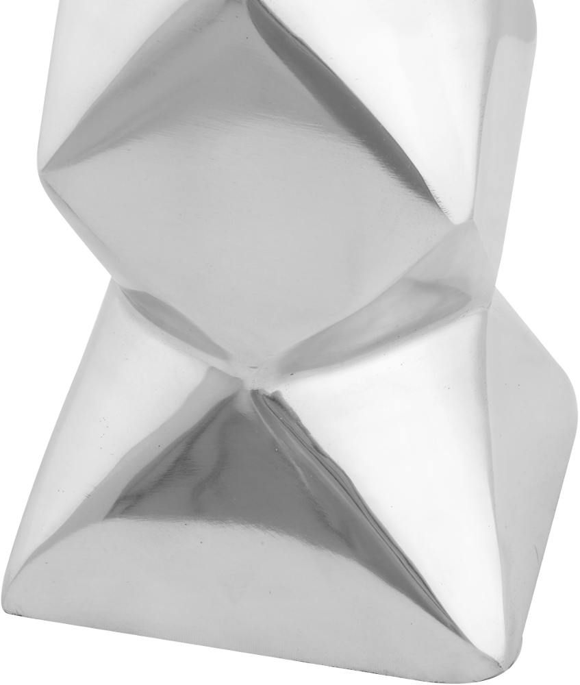Vase design aluminium poli Diamond