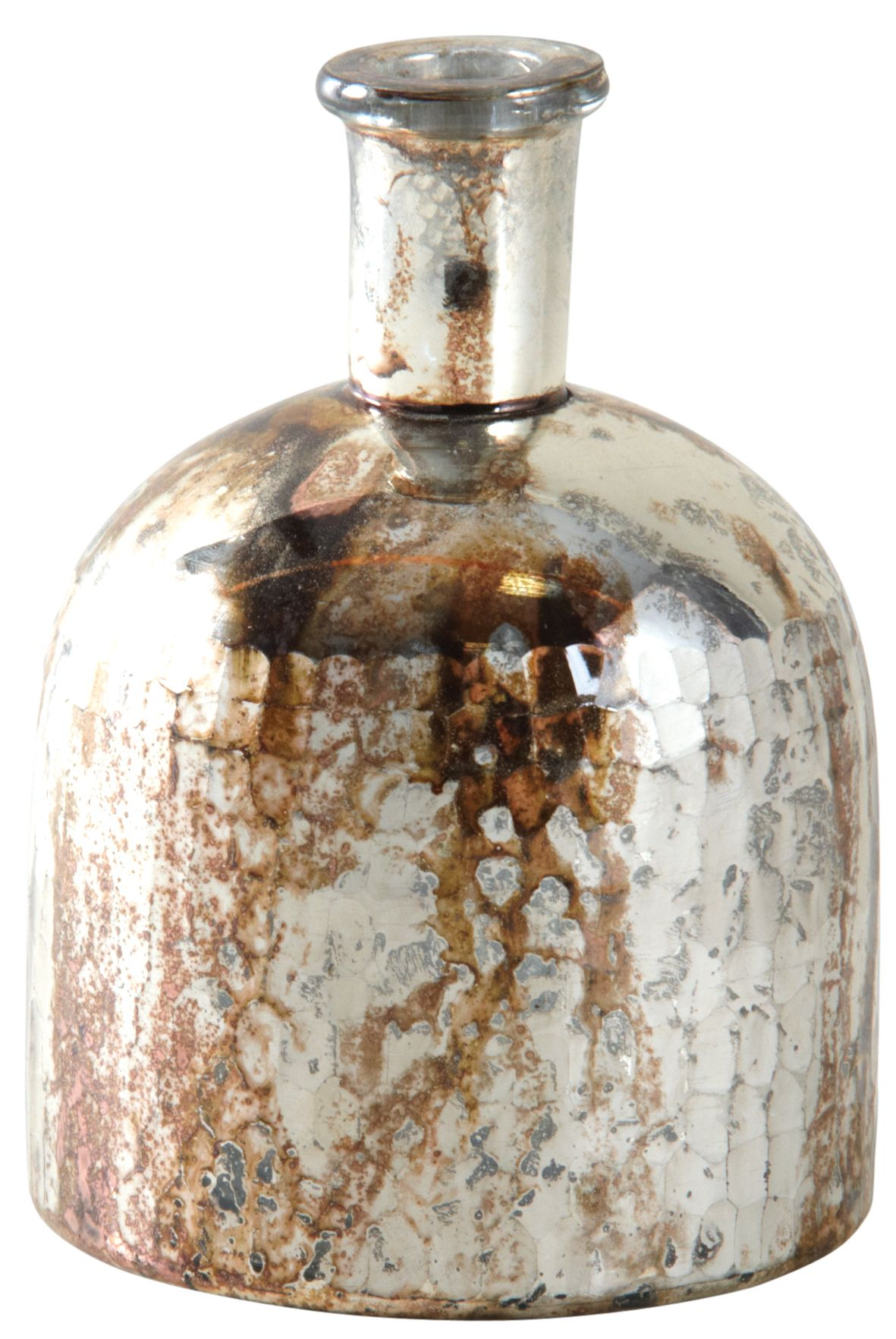 vase flacon en verre antique indu petit. Black Bedroom Furniture Sets. Home Design Ideas