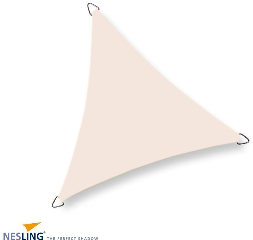image_Voile d'ombrage imperméable triangulaire Dreamsail blanc