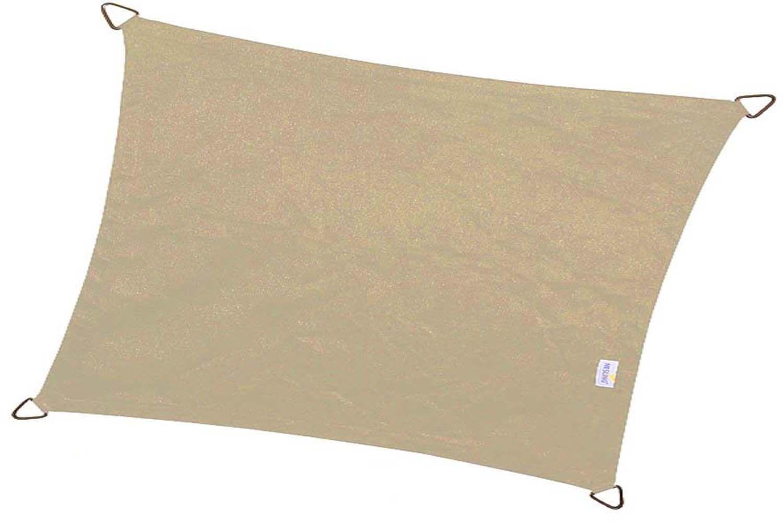 Voile D Ombrage 6 X 4 voile d'ombrage rectangulaire coolfit 4 x 3 m (sable)