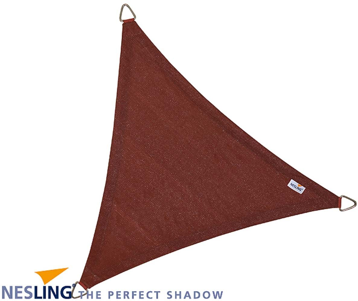 image_Voile d'ombrage triangulaire Coolfit terracotta