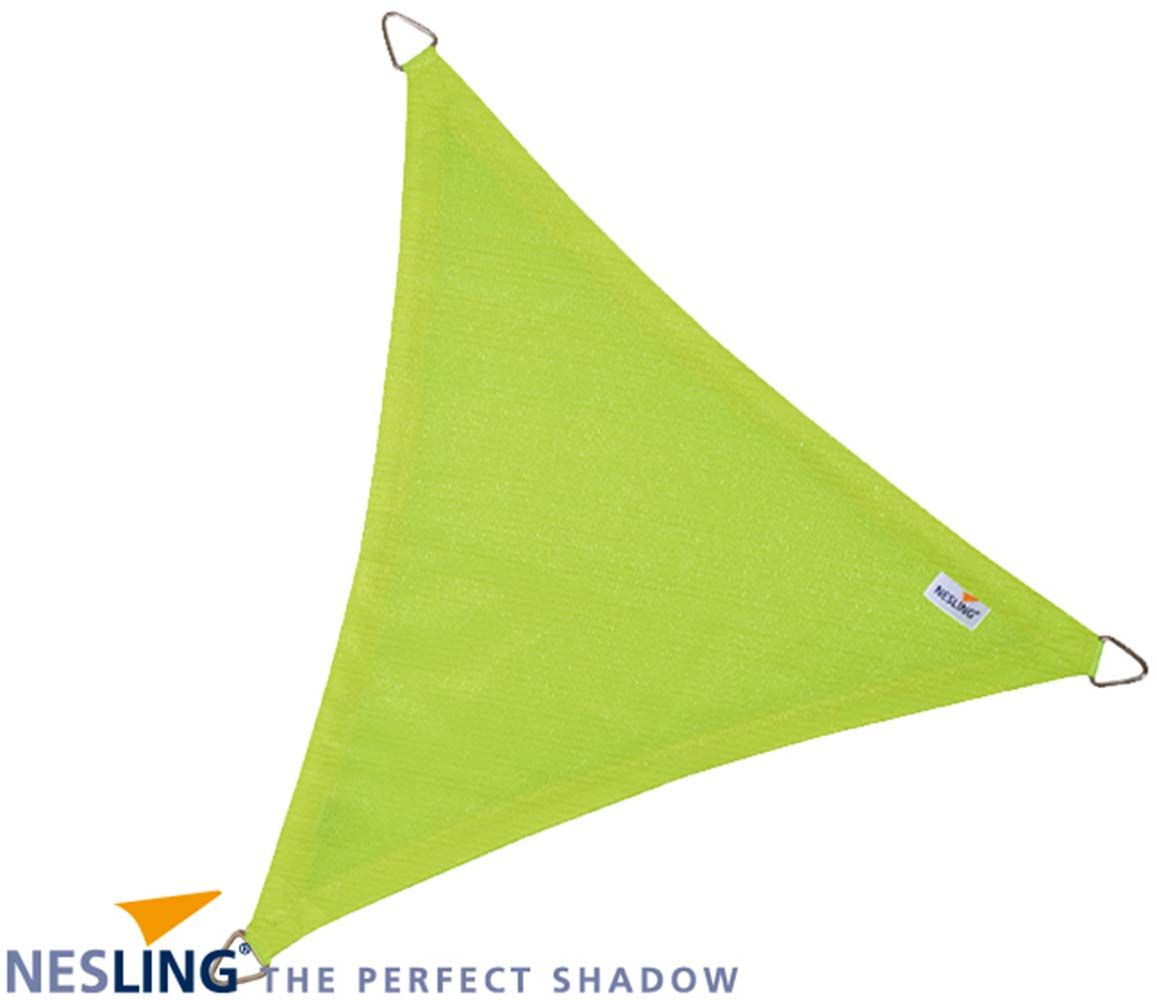 image_Voile d'ombrage triangulaire Coolfit vert lime