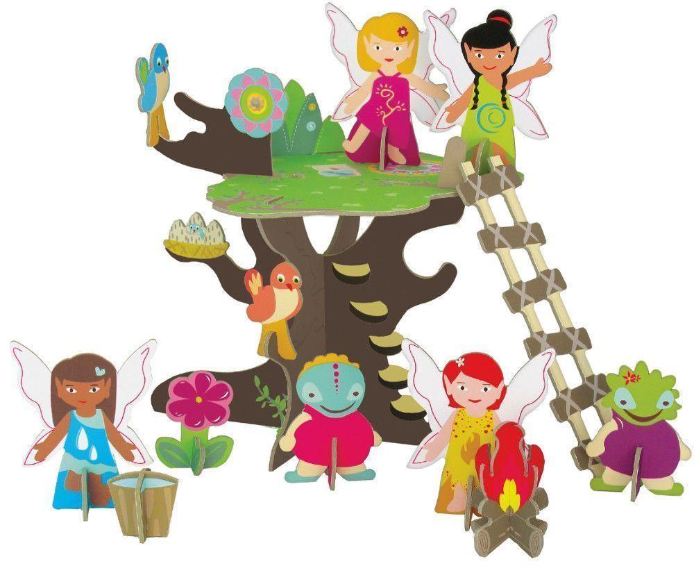 Puzzle 3d l'arbre des f�es