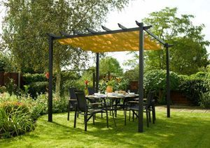 pergola autoportee pour jardin. Black Bedroom Furniture Sets. Home Design Ideas